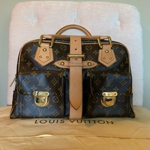 Excellent Condition Louis Vuitton Manhattan GM